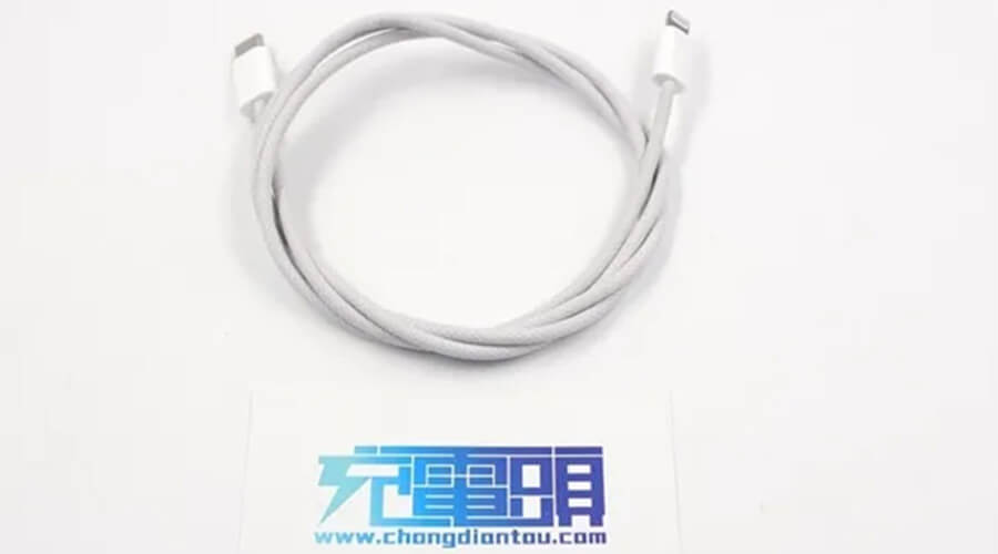 Source from chongdiantou.com:iPhone 12 standard charging cable makes public.